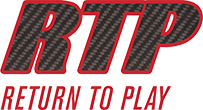 RTP Fast – Return to Play – Carbon Fiber Inserts Logo